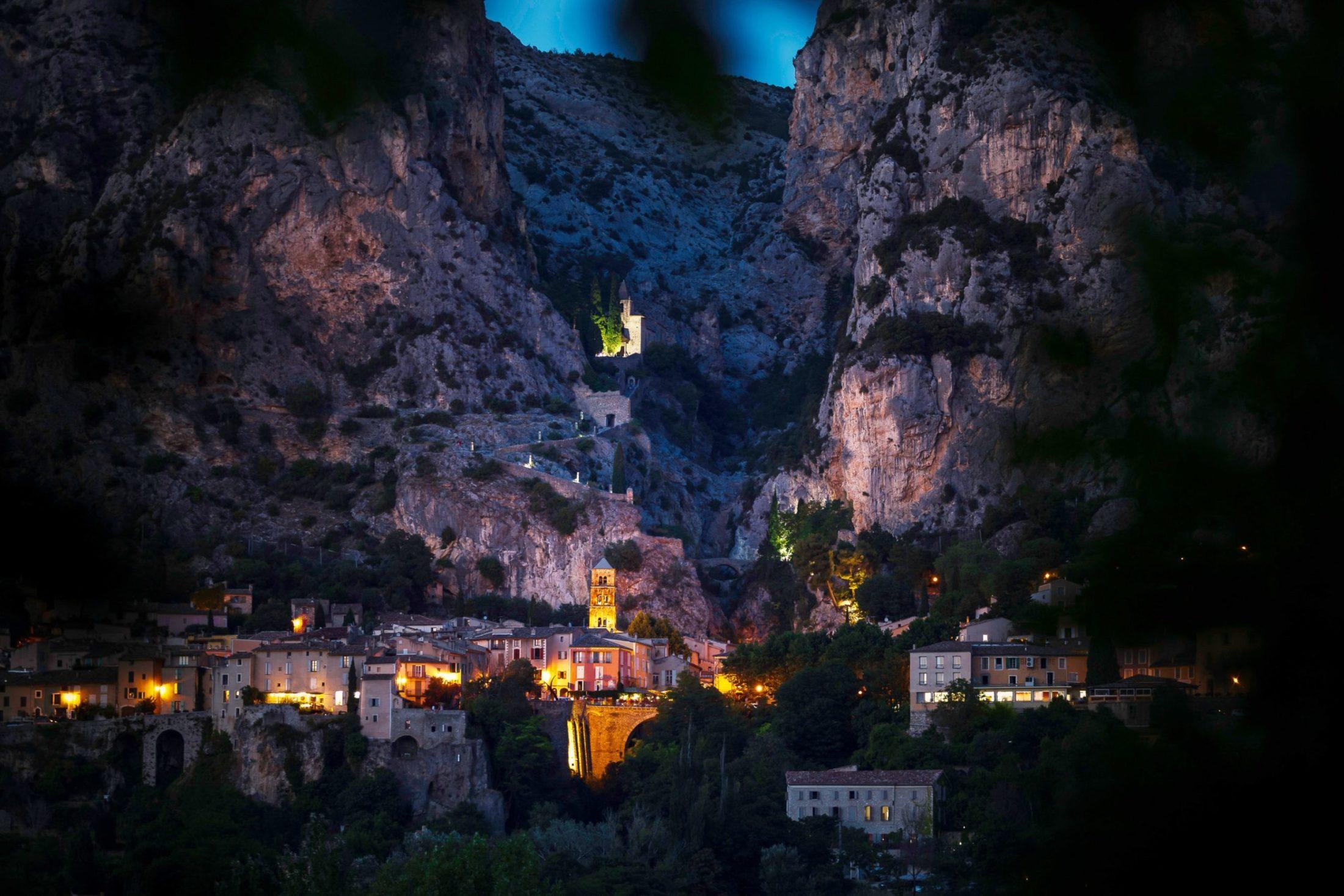 Les villages du Verdon en photos
